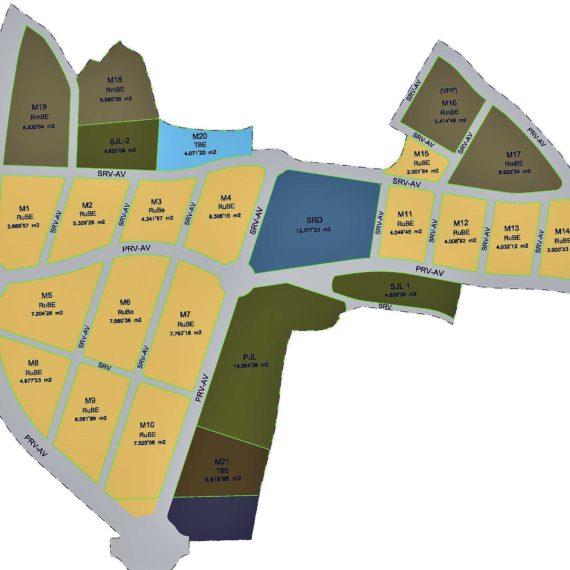 Anteproyecto de instalaciones para urbanizacion del sector La Cañaeta en Monóvar