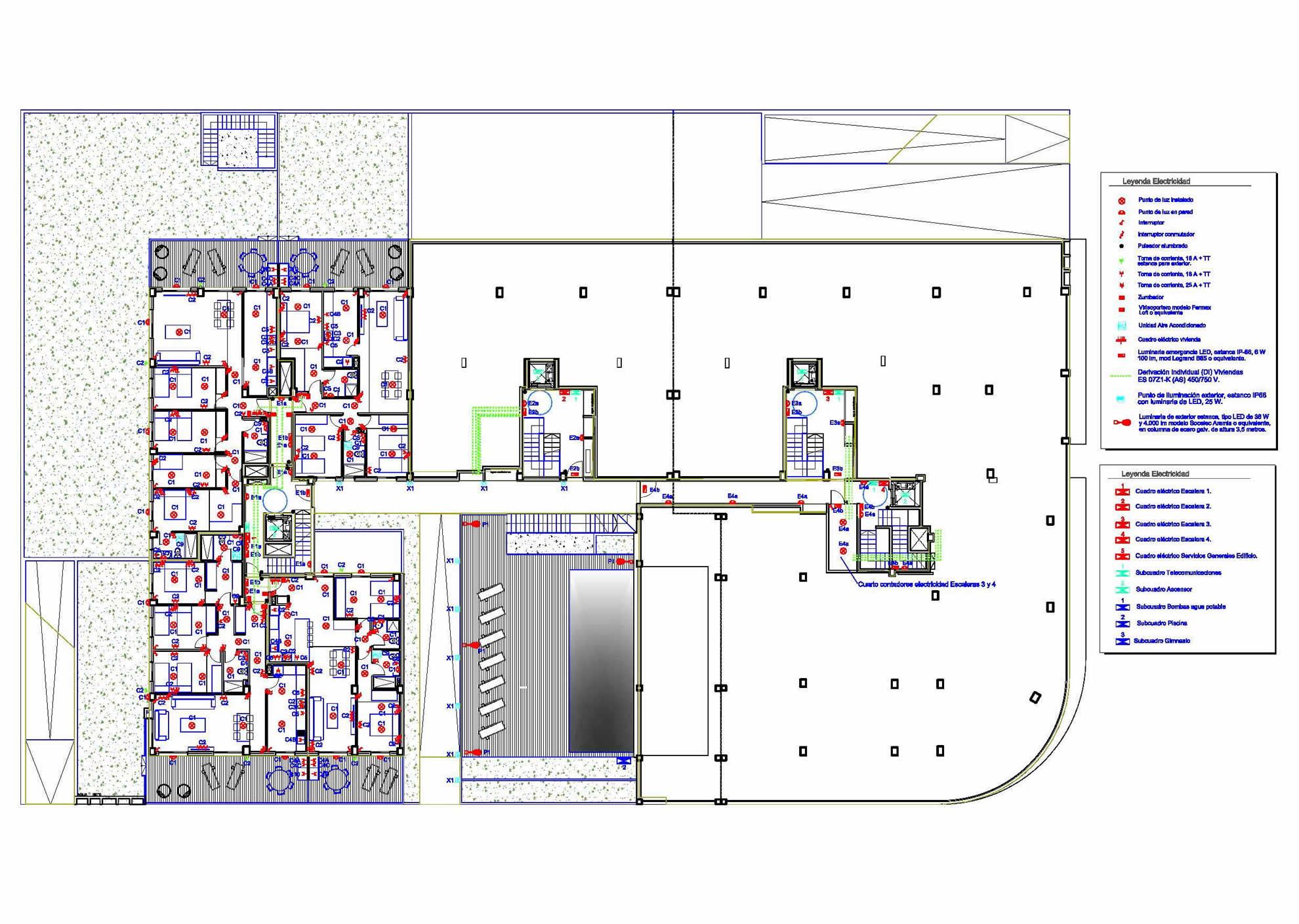 Proyectos de Instalaciones para edificio de 68 viviendas en Elche 2