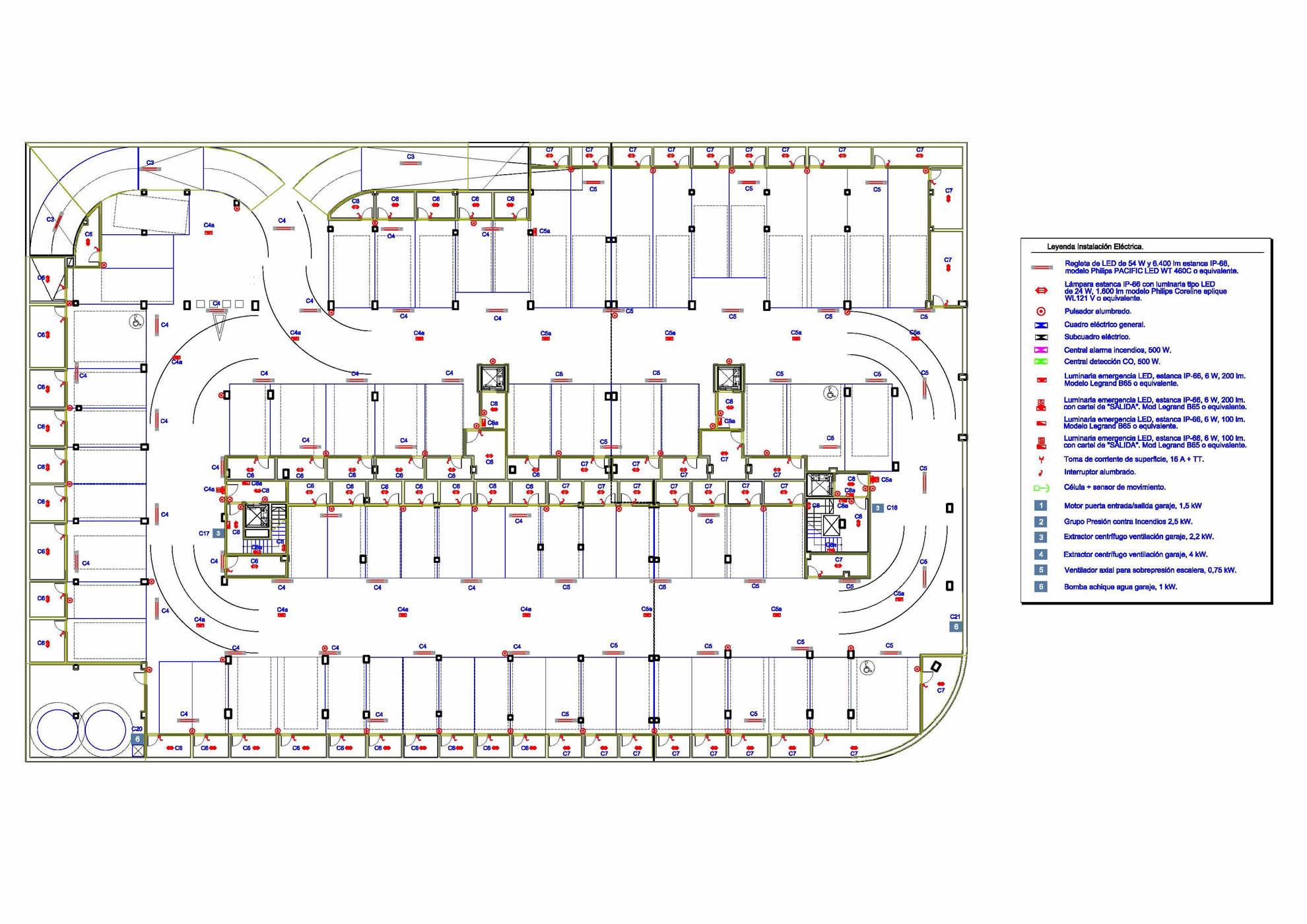 Proyectos de Instalaciones para edificio de 68 viviendas en Elche 3
