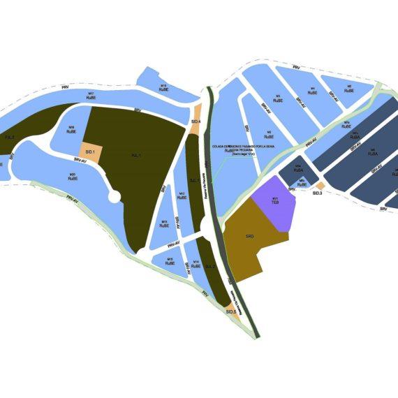 Anteproyecto de Instalaciones para urbanización del sector La Zenia en Monóvar