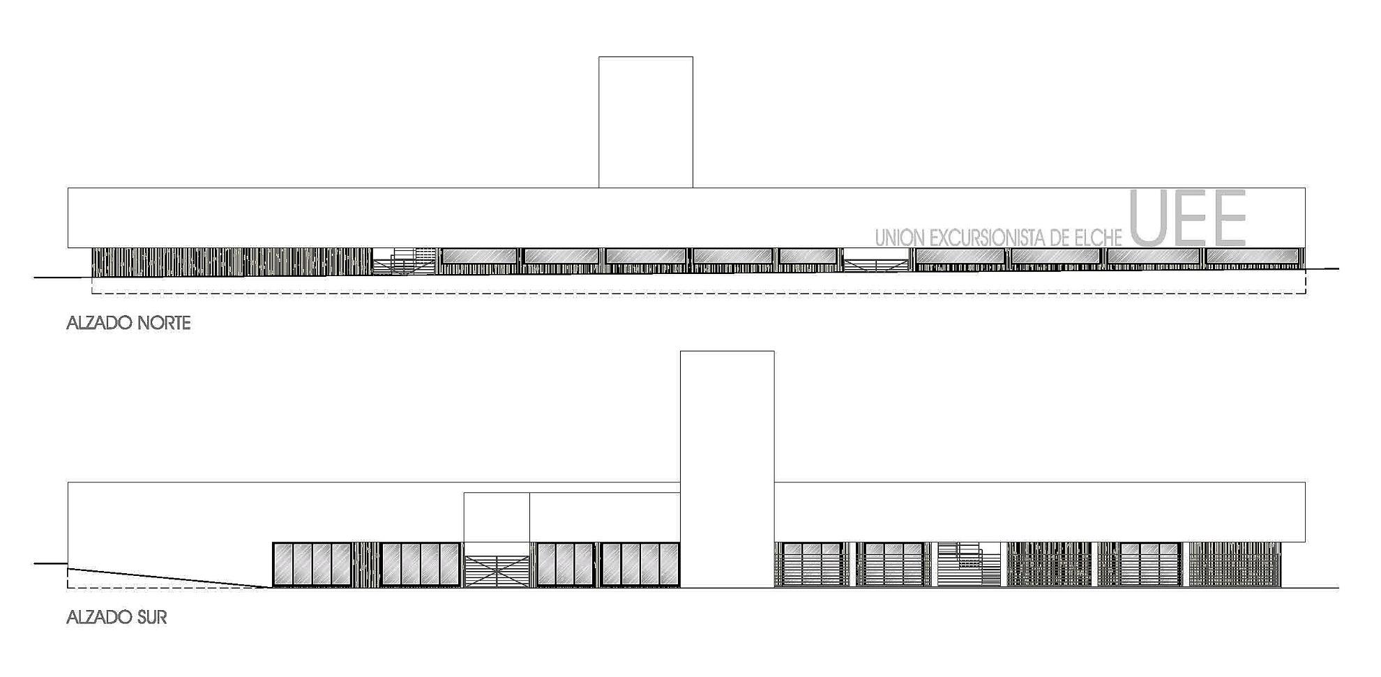 Proyecto de Instalaciones para edificio de la Sede de la Union Excursionista de Elche