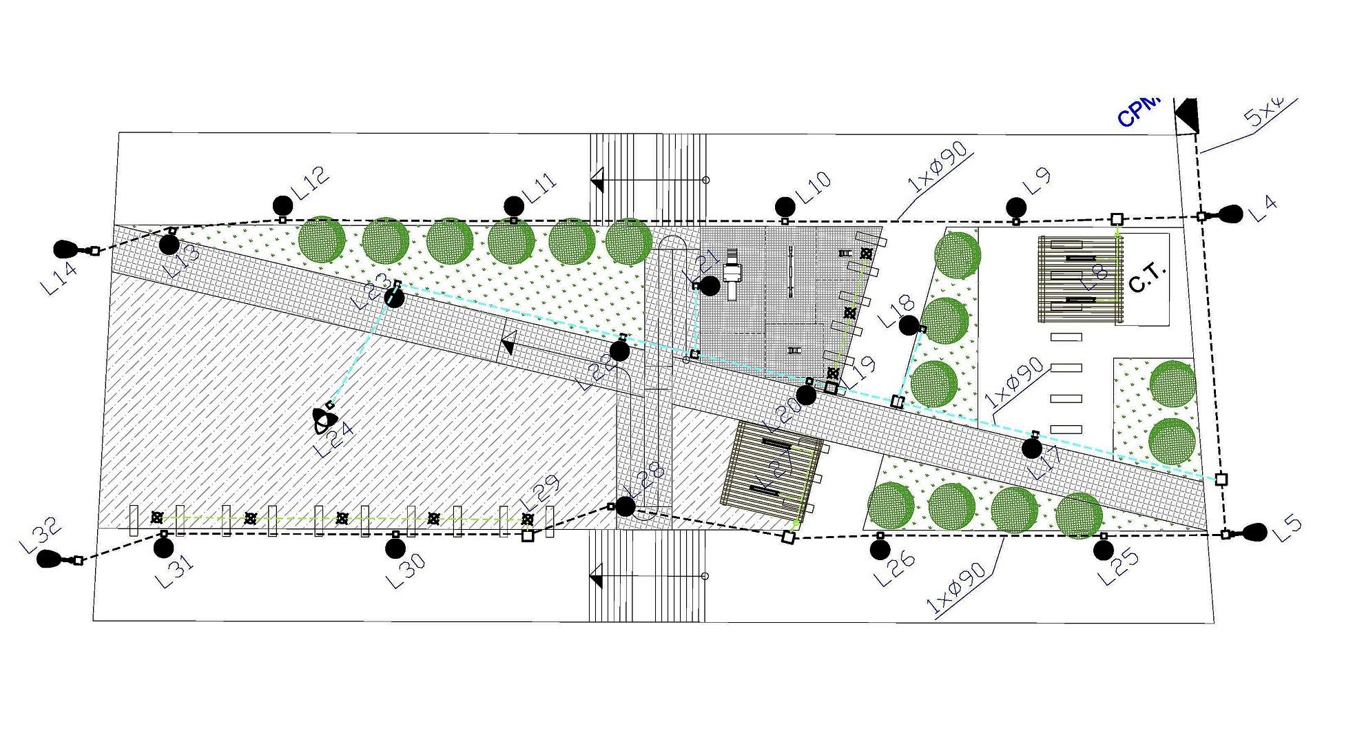 Proyecto de Instalaciones para urbanización del sector 4 del P.G.O.U. de Monovar
