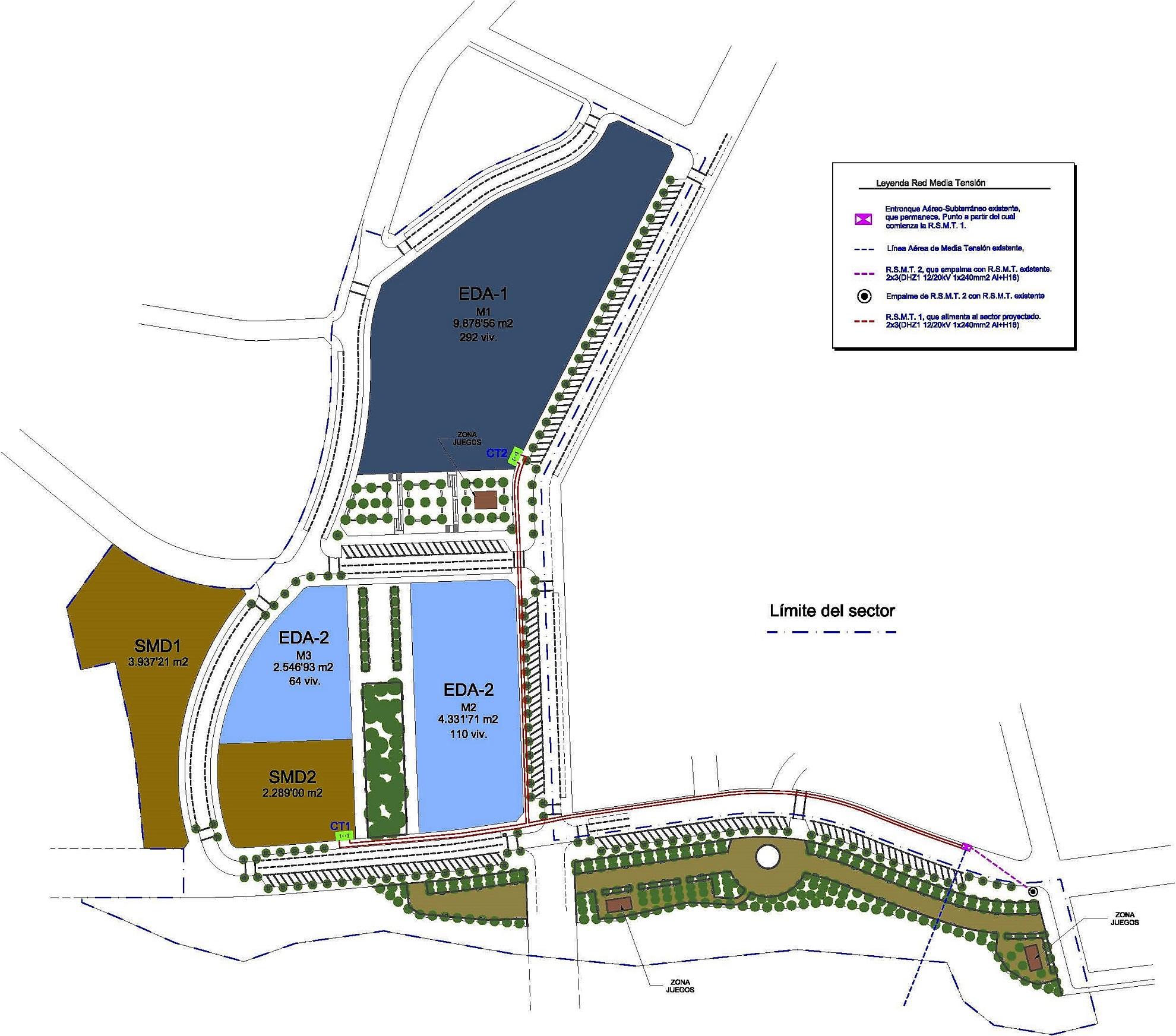 Proyecto de Instalaciones para urbanización del sector El Belich en Monóvar