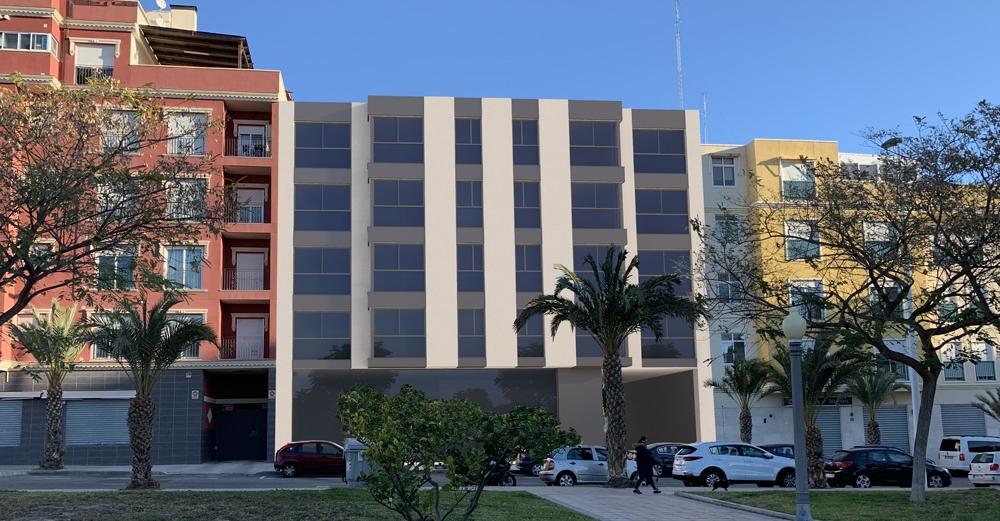 PROYECTOS DE INSTALACIONES Y LEGALZACIÓN PARA EDIFICIO DE 16 VIVIENDAS, LOCAL COMERCAL Y APARCAMIENTO